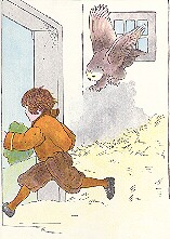 Boy in Barn